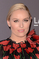 LOS ANGELES, CA - NOVEMBER 04: Lindsey Vonn at the 2017 LACMA Art + Film Gala Honoring Mark Bradford And George Lucas at LACMA on November 4, 2017 in Los Angeles, California. Credit: David Edwards/MediaPunch /NortePhoto.com