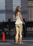 JANUARY 16TH 2013<br /> <br /> ANNALYNNE MCCORD FILMING TV SHOW 90201 IN LOS ANGELES <br /> COWBOY COWGIRL LEATHER BROWN JACKET WITH GOLD FRINGE &amp; UGG BOOTS CLEAVAGE RED LIPSTICK TIGHT TAN PANTS . ALSO WEARING BIG BLACK AND WHITE GOWN WEDDING DRESS <br /> <br /> ABILITYFILMS@YAHOO.COM<br /> 805 427 3519<br /> WWW.ABILITYFILMS.COM