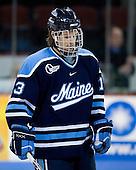 Keenan Hopson (Maine - 13) - The Boston University Terriers defeated the University of Maine Black Bears 1-0 (OT) on Saturday, February 16, 2008 at Agganis Arena in Boston, Massachusetts.