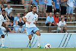 30 August 2013: North Carolina's Jonathan Campbell. The University of North Carolina Tar Heels hosted the Monmouth University Hawks at Fetzer Field in Chapel Hill, NC in a 2013 NCAA Division I Men's Soccer match. UNC won the game 1-0 in two overtimes.