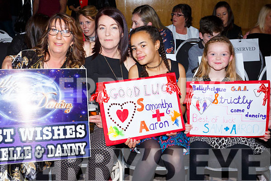 Catherine Casey, Ann Drury, Paige Drury and Shannon Drury at the Ballyheigue GAA 'Strictly Come Dancing' in the Ballyroe Heights Hotel on Saturday night