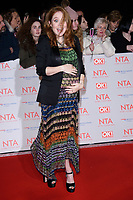 Angela Scanlan<br /> arriving for the National Television Awards 2018 at the O2 Arena, Greenwich, London<br /> <br /> <br /> ©Ash Knotek  D3371  23/01/2018