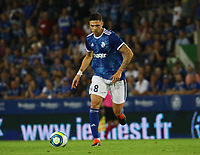 Jonas Martin (Racing Club de Strasbourg Alsace) - 22.08.2019: Racing Straßburg vs. Eintracht Frankfurt, UEFA Europa League, Qualifikation, Commerzbank Arena<br /> DISCLAIMER: DFL regulations prohibit any use of photographs as image sequences and/or quasi-video.
