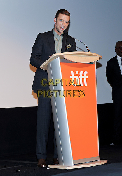 13 September 2016 - Toronto, Ontario Canada - Justin Timberlake. &quot;Justin Timberlake + The Tennessee Kids&quot; Premiere during the 2016 Toronto International Film Festival held at TIFF Bell Lightbox. <br /> CAP/ADM/BPC<br /> &copy;BPC/ADM/Capital Pictures
