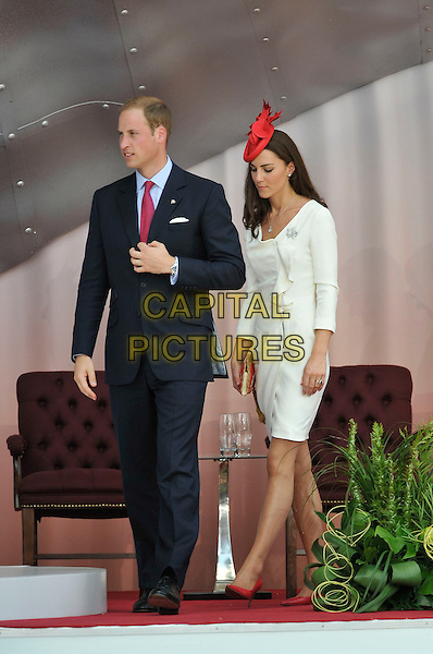 The Duke and Duchess of Cambridge.On royal tour. Canada Day celebrations, Parliament Hill, Ottawa, Canada 1st July 2011.CAP/CAS.©Bob Cass/Capital Pictures.