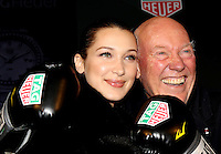 www.acepixs.com<br /> <br /> February 13 2017, New York City<br /> <br /> Bella Hadid (L) and CEO of TAG Heuer Jean-Claude Biver at 'A Fresh New Face For TAG Heuer' at Equinox Bond Street on February 13, 2017 in New York City.<br /> <br /> By Line: Nancy Rivera/ACE Pictures<br /> <br /> <br /> ACE Pictures Inc<br /> Tel: 6467670430<br /> Email: info@acepixs.com<br /> www.acepixs.com