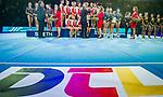 SIegerehrung beim DTL Finale 2019-11-30 MHP Arena Ludwigsburg Baden Wuerttemberg Deutschland<br /> <br /> Foto © PIX-Sportfotos *** Foto ist honorarpflichtig! *** Auf Anfrage in hoeherer Qualitaet/Aufloesung. Belegexemplar erbeten. Veroeffentlichung ausschliesslich fuer journalistisch-publizistische Zwecke. For editorial use only.