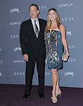 Tom Hanks and Rita Wilson at The LACMA 2012 Art + Film Gala held at LACMA in Los Angeles, California on October 27,2012                                                                   Copyright 2012  DVS / Hollywood Press Agency