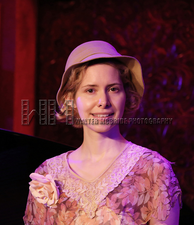 Nellie McKay previews her show 'A Girl named Bill - The Life and Times of Billy Tipton' at 54 Below on July 10, 2014 in New York City.