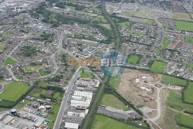 Aerial images of Drogheda Duleek Road..Photo: Newsfile / Fran Caffrey.