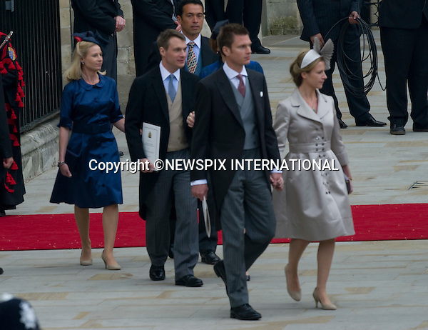 """PRINCE WILLIAM AND CATHERINE MIDDLETON_Kents.Marry at Westminster Abbey,London_29/04/2011.Mandatory Photo Credit: ©Dias/Newspix International..**ALL FEES PAYABLE  TO: """"NEWSPIX INTERNATIONAL""""**..PHOTO CREDIT MANDATORY!!: NEWSPIX INTERNATIONAL(Failure to credit will incur a surcharge of 100% of reproduction fees)..IMMEDIATE CONFIRMATION OF USAGE REQUIRED:.Newspix International, 31 Chinnery Hill, Bishop's Stortford, ENGLAND CM23 3PS.Tel:+441279 324672  ; Fax: +441279656877.Mobile:  0777568 1153.e-mail: info@newspixinternational.co.uk"""