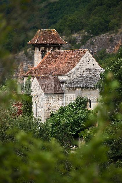 Europe/France/Midi-Pyrénées/46/Lot/Sainte-Eulalie: le prieuré