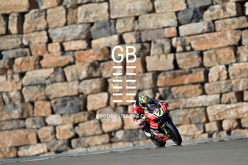 FIM Superbike World Championship, Test, Motorland Aragon, November 2016, Chaz Davies, Ducati