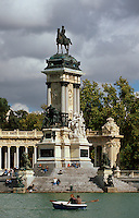 Spanien, In Retiro-Park in Madrid
