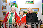Pictured at the Éigse na Brídeoíge opening in Dromid on Friday night last were l-r; Marie Murphy, Eithne Ní Ríordain and Kathryn Reynolds.