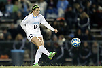 21 November 2014: North Carolina's Jessie Scarpa. The University of North Carolina Tar Heels hosted the University of Colorado Buffaloes at Fetzer Field in Chapel Hill, NC in a 2014 NCAA Division I Women's Soccer Tournament Second Round match. UNC won the game 1-0 in overtime.