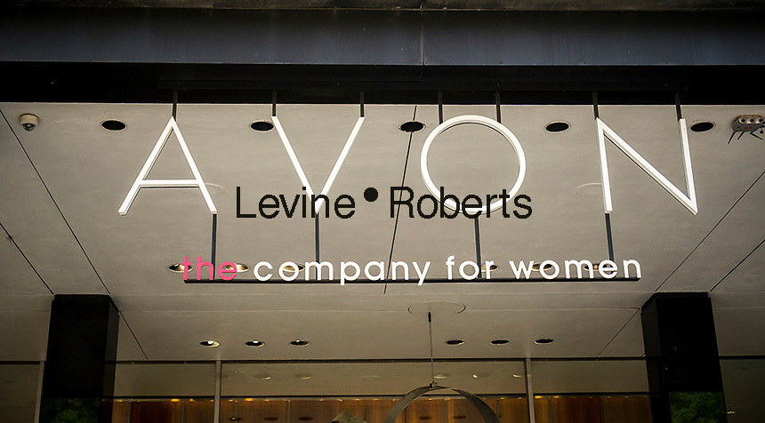 The corporate offices of the cosmetics company, Avon in New York on Saturday, May 28, 2016. (© Richard B. Levine)