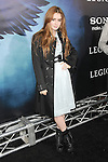 Lily Collins at The Screen Gems World Premiere of Legion held at The Arclight Cinerama Dome in Hollywood, California on January 21,2010                                                                   Copyright 2009 DVS / RockinExposures