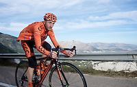 43 yr old Davide Rebellin (ITA/CCC - Sprandi-Polkowice) training hard in Allicante ahead of yet another season in the saddle<br /> <br /> 2015 training camp