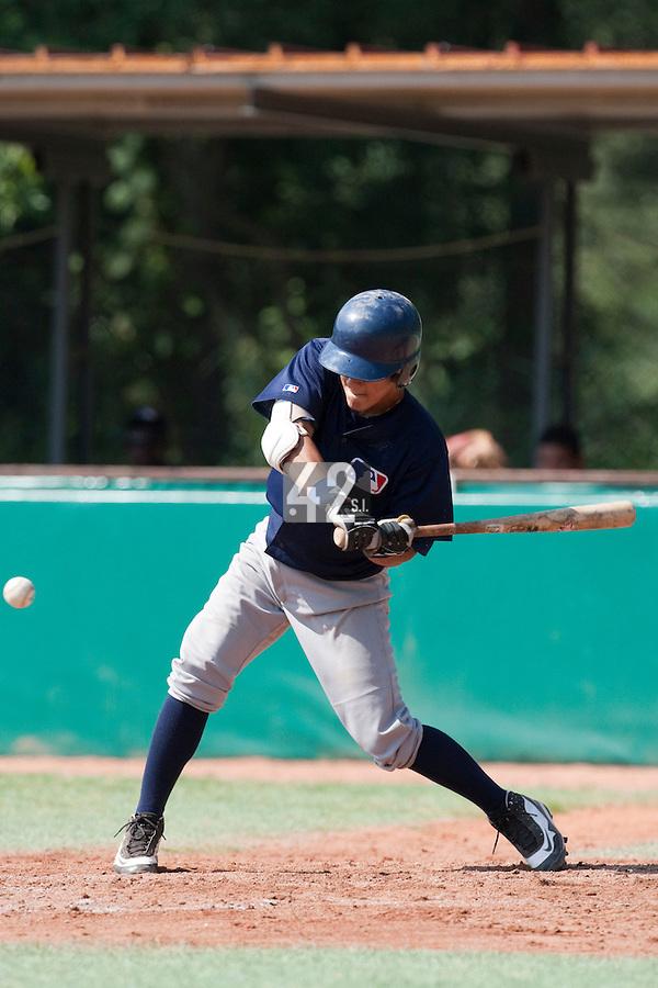 Baseball - MLB European Academy - Tirrenia (Italy) - 22/08/2009 - Maxime Lefevre (France)