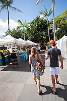 The Esplanade Markets.  Cairns, Queensland, Australia