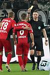 15.03.2019, Borussia Park , Moenchengladbach, GER, 1. FBL,  Borussia Moenchengladbach vs. SC Freiburg,<br />  <br /> DFL regulations prohibit any use of photographs as image sequences and/or quasi-video<br /> <br /> im Bild / picture shows: <br /> gelbe Karte f&uuml;r AMIR ABRASHI (Freiburg #6), fuer ein Foul an Lars Stindl (Gladbach #13), <br /> <br /> Foto &copy; nordphoto / Meuter