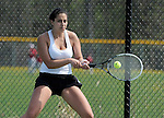 5-19-15, Skyline High School girl's varsity tennis in action
