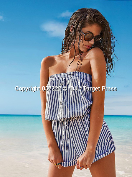 NEW PICS Portuguese model Sara Sampaio for Calzedonia new collection.<br /> <br /> <br /> &copy; DJ / Target Press - 21/04/2014 - *Hands Out Pics*