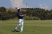 Thomas Aiken (RSA) on the 6th fairway during Round 3 of the Rocco Forte Sicilian Open 2018 played at Verdura Resort, Agrigento, Sicily, Italy on Saturday 12th May 2018.<br /> Picture:  Thos Caffrey / www.golffile.ie<br /> <br /> All photo usage must carry mandatory copyright credit (&copy; Golffile   Thos Caffrey)