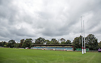 On 7th December, London Welsh Rugby Club announced they have cancelled their B&I Cup match for Saturday 10th December and are to seek voluntary liquidation.  This is a general view of Old Deer Park, home of London Welsh Rugby Club taken on 9th September 2016 at Old Deer Park, Richmond, England. Photo by Andy Rowland / PRiME Media Images.