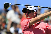 Justin Rose (ENG) tees off the 1st tee to start his match during Thursday's Round 1 of the 117th U.S. Open Championship 2017 held at Erin Hills, Erin, Wisconsin, USA. 15th June 2017.<br /> Picture: Eoin Clarke | Golffile<br /> <br /> <br /> All photos usage must carry mandatory copyright credit (&copy; Golffile | Eoin Clarke)