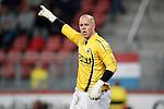 Nederland, Utrecht, 30 maart 2012.Eredivisie .Seizoen 2011-2012.FC Utrecht-Excelsior (3-2).Wesley de Ruiter, keeper (doelman) van Excelsior