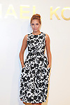 Model Amber Le Bon Attends The Michael Kors Gold Collection Fragrance Launch Held at the Standard Hotel NYC