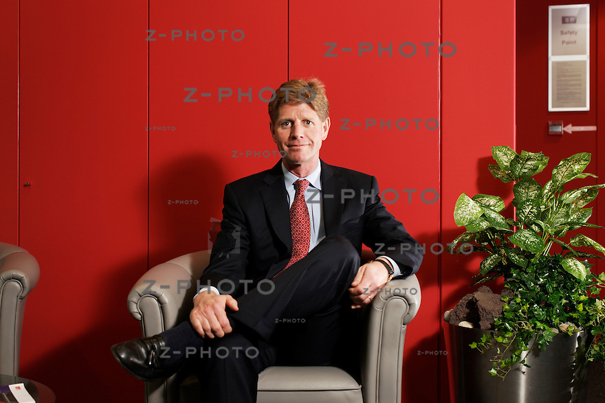 Interview mit Joe Hogan CEO, Chief Executive Officer von ABB Schweiz, ABB, Ltd im Hauptsitz in Oerlikon  am 30. September 2009...Copyright © Zvonimir Pisonic