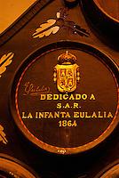 Spanien, Andalusien, Bodega Gonzales Byass in Jerez de la Frontera