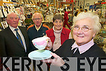 RELAXING: Mary Anne Hartnett looking forward to a relaxing retirement on her last day of work at Killarney Household shop on New Years Eve with best wishes from Seamus O'Sullivan-Darcy, Con Hartnett and Mary O'Sullivan-Darcy.   Copyright Kerry's Eye 2008