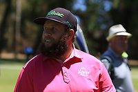 Andrew Johnston (ENG) in action on the 1st during Round 2 of the ISPS Handa World Super 6 Perth at Lake Karrinyup Country Club on the Friday 9th February 2018.<br /> Picture:  Thos Caffrey / www.golffile.ie<br /> <br /> All photo usage must carry mandatory copyright credit (&copy; Golffile | Thos Caffrey)
