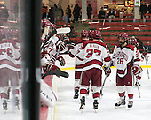 Victor Newell (Harvard - 28) - The Harvard University Crimson defeated the Princeton University Tigers 3-2 on Friday, January 31, 2014, at the Bright-Landry Hockey Center in Cambridge, Massachusetts.