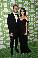 BEVERLY HILLS, CA - JANUARY 6: Aaron Endress-Fox, Perrey Reeves, at the HBO Post 2019 Golden Globe Party at Circa 55 in Beverly Hills, California on January 6, 2019. <br /> CAP/MPI/FS<br /> &copy;FS/MPI/Capital Pictures