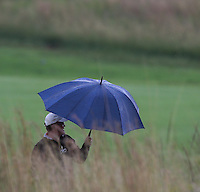 Umbrellas on mass during the Final Round of The Tshwane Open 2014 at the Els (Copperleaf) Golf Club, City of Tshwane, Pretoria, South Africa. Picture:  David Lloyd / www.golffile.ie