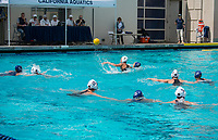 Cal Waterpolo W vs USC, April 15, 2017