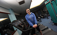 Pictured: Chloe at the gymnasium. Friday 26 September 2014<br />