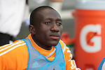 05 June 2009: Houston's Dominic Oduro. The Houston Dynamo defeated the Chicago Fire 1-0 at Toyota Park in Bridgeview, Illinois in a regular season Major League Soccer game.