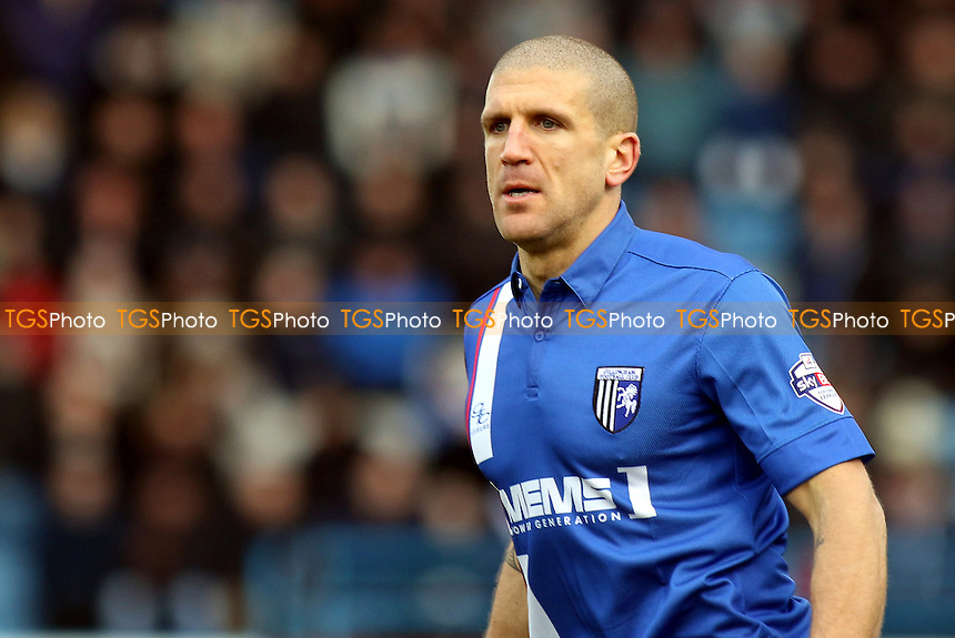 Adam El-Abd of Gillingham, on loan from Bristol City for the remainder of the season during Gillingham vs Chesterfield, Sky Bet League 1 Football at the MEMS Priestfield Stadium, Gillingham
