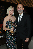 """ABC, DISNEY TV STUDIOS, FX, HULU, & NATIONAL GEOGRAPHIC 2019 EMMY AWARDS NOMINEE PARTY: Michelle Williams and Chairman, FX Networks and FX Productions John Landgraf attend the """"ABC, Disney TV Studios, FX, Hulu & National Geographic 2019 Emmy Awards Nominee Party"""" at Otium on September 22, 2019 in Los Angeles, California. (Photo by PictureGroup/Walt Disney Television)"""