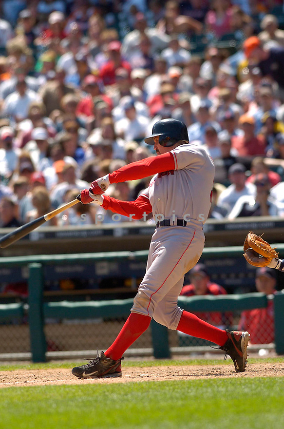 Jason Varitek, of the Boston Red Sox, during their game against the Detroit Tigers on June 6, 2006 in Detroit...Red Sox win8-3...David Durochik / SportPics