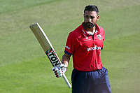 Ravi Bopara of Essex leaves the field having been dismissed for 125 during Essex Eagles vs Kent Spitfires, Royal London One-Day Cup Cricket at The Cloudfm County Ground on 6th June 2018