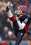 17 December 2006: Buffalo Bills punter Brian Moorman (8) in action against the Miami Dolphins at Ralph Wilson Stadium in Orchard Park, New York. The Bills defeated the Dolphins 21-0.. .Mandatory Photo Credit: Ed Wolfstein Photo<br />