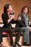 Gwenaelle HAMON - Vic-presidente Rennes-Metropole deleguee a l'economie - et Isabelle PELLERIN - Vic-presidente Rennes-Metropole deleguee a l'enseignement suêrieur et a la recherche