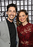Daniel Vosovic and Zoe Chapin attend the Opening Night 'In & Of Itself' at the Daryl Roth Theatre on April 12, 2017 in New York City